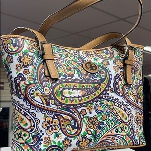 Multi Paisley  Giani Bernini Beautiful Purse!!